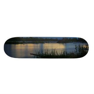 Skate Por do sol da meia-noite de Denali