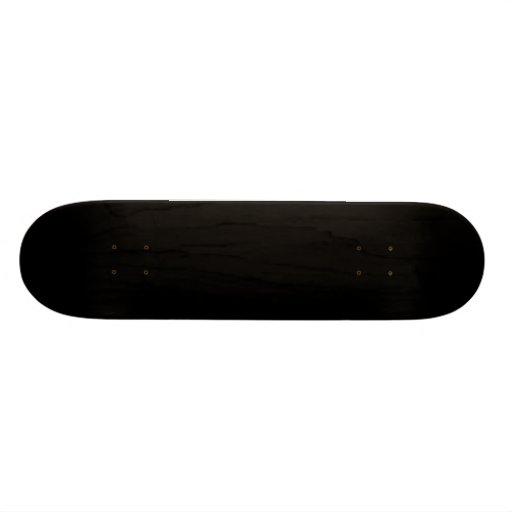 Skate preto vazio 7 modelo de um costume de 7/8 de
