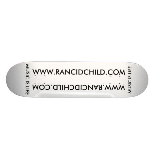 Skate ranço da criança