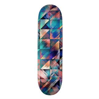 Skate Reflexões estruturais da turquesa
