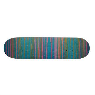 Skate Skateboard. listrado