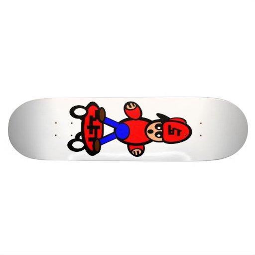 Skate Skateboarding do miúdo dos desenhos animados