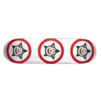 Skate super 21.6cm do macaco