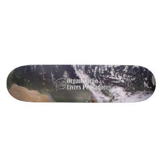 Skate Terra vista do Espaço