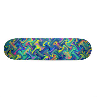 Skate Teste padrão da Multi-Cor