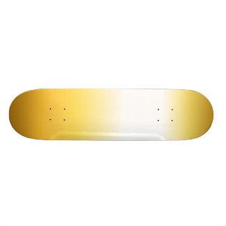Skate Textura dourada
