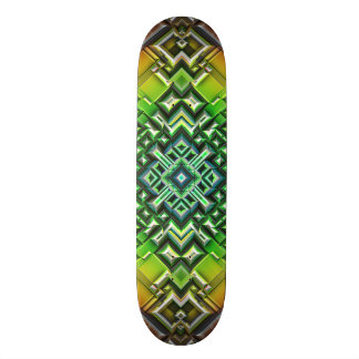 Skate Tons geométricos da terra