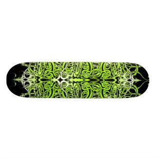 Skate tribal do tatuagem do império - preto verde