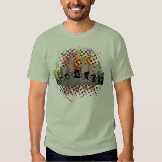 Skateboarding urbano mim t-shirts
