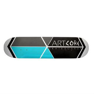 Skateboards/Big logótipo BLUE Shape De Skate 18,1cm