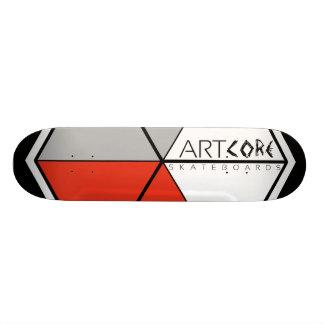 Skateboards/Big logótipo CONVERSAS Shape De Skate 18,1cm