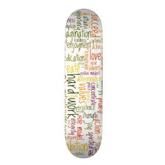 Skatedecks inspiradores das palavras #2 skate personalizado