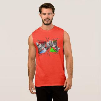 Skater Shirt em Vermelho Regata