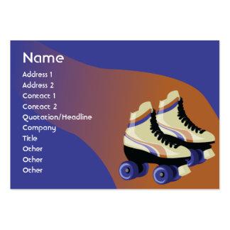 Skates - carnudos cartão de visita grande