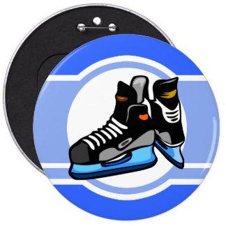Skates do hóquei Azul Pins