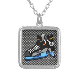 Skates do hóquei da fibra do carbono do falso bijuterias personalizadas