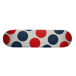 Skates legal para bolinhas do vermelho azul das me