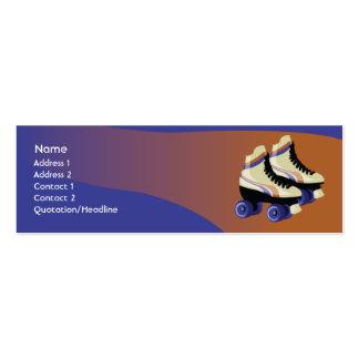 Skates - magros cartão de visita skinny