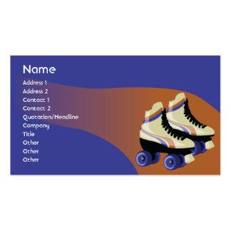 Skates - negócio cartão de visita