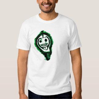 Skeley em um Hoodie Camisetas