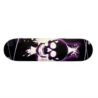 skill desenho violeta shape de skate 19,7cm