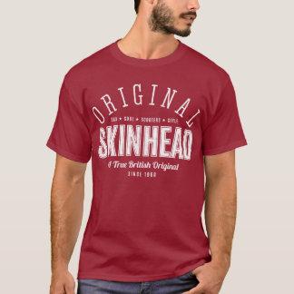 Skinhead original - texto branco tshirt