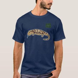 Skink Tongued azul Camiseta