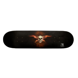 SkullWing II Shape De Skate 20,6cm