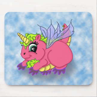 skybackground, cópia feericamente do dragoncorn mouse pad