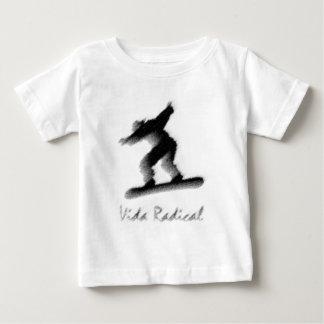 Skyboard - vida radical - radical de Vida Camiseta Para Bebê