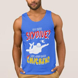 Skydive ou galinha? (branco)