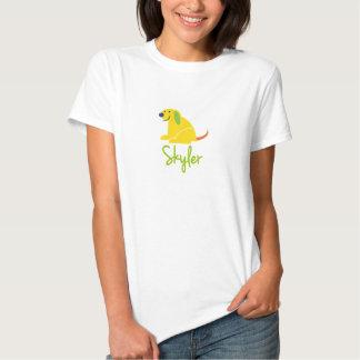 Skyler ama filhotes de cachorro camisetas
