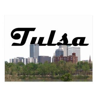 Skyline APROVADA de Tulsa com o Tulsa no cartão do