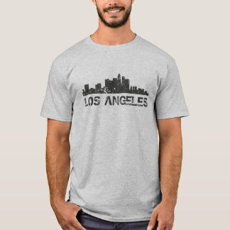 Skyline da arquitectura da cidade de Los Angeles Camiseta