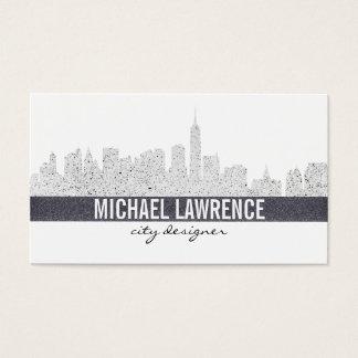 Skyline da cidade cartão de visitas