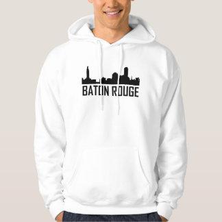 Skyline da cidade de Baton Rouge Louisiana Moletom