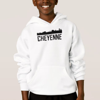 Skyline da cidade de Cheyenne Wyoming