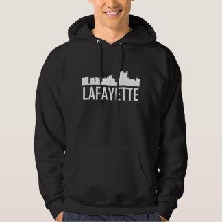 Skyline da cidade de Lafayette Louisiana Moletom