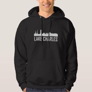 Skyline da cidade de Lake Charles Louisiana Moletom