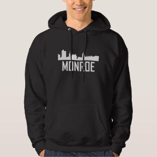 Skyline da cidade de Monroe Louisiana Moletom