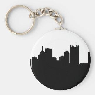 Skyline da cidade de Pittsburgh Chaveiro