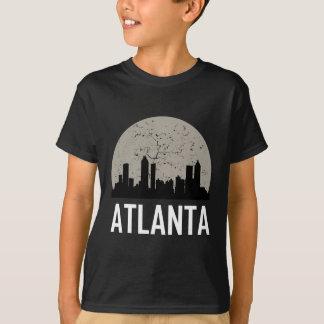 Skyline da Lua cheia de Atlanta Camiseta