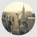 Skyline da Nova Iorque Adesivo