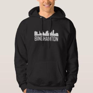 Skyline da Nova Iorque de Binghamton Moletom