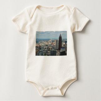 Skyline de Atlanta Body Para Bebê
