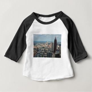 Skyline de Atlanta Camiseta Para Bebê