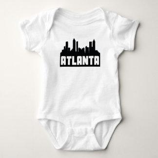 Skyline de Atlanta Geórgia Body Para Bebê