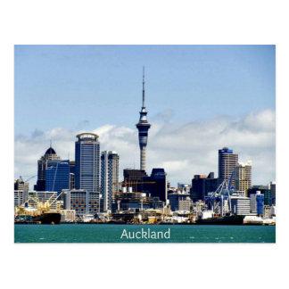 Skyline de Auckland Cartão Postal