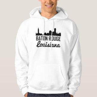 Skyline de Baton Rouge Louisiana Moletom