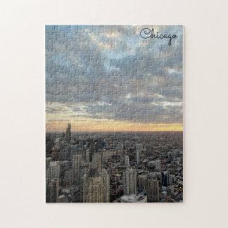 Skyline de Chicago Quebra-cabeça